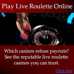 Live roulette casinos compared